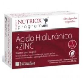 NUTRIOX ACIDO HIALURONICO + ZINC 60CAP