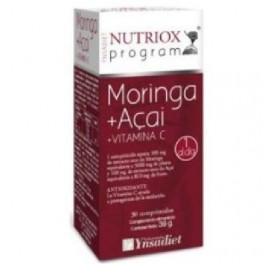 NUTRIOX MORINGA + ACAI + VIT. C 30COMP