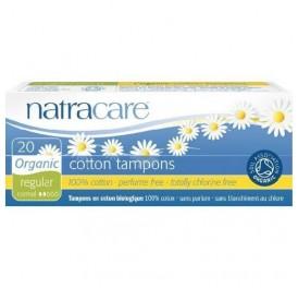 NATRACARE TAMPON REGULAR S/APLIC 20UD