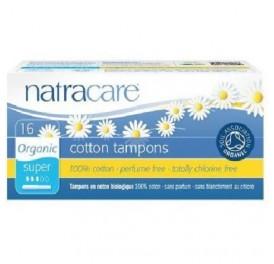 NATRACARE TAMPON SUPER C/APLIC 16UD