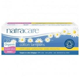 NATRACARE TAMPON SUPER PLUS S/APLIC 20UD