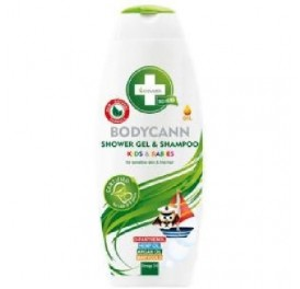 ANNABIS BODYCANN KIDS CHAMPU Y GEL 2 EN 1 BIO 250ML