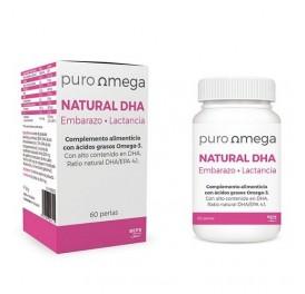 PURO OMEGA NATURAL DHA EMBARAZO Y LACTANCIA 60 PERLAS