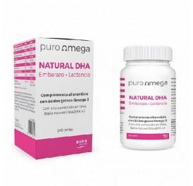 PURO OMEGA NATURAL DHA EMBARAZO Y LACTANCIA 240 PERLAS