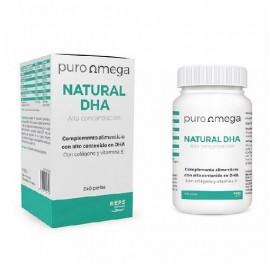 PURO OMEGA NATURAL DHA ALTA CONCENTRACION 240 PERLAS