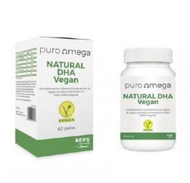 PURO OMEGA NATURAL DHA VEGAN 60 PERLAS