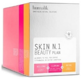 HUMALIK SKIN N1 BEAUTY PLAN 20SOBRES + 20COMP + 60CAP