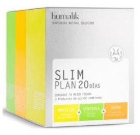 HUMALIK SLIM PLAN 20DIAS 120COMP