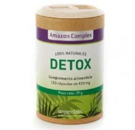 SERPENS AMAZON COMPLEX DETOX 120CAP