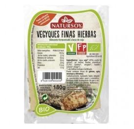 NATURSOY VEGGIEQUES FINAS HIERBAS 150GRS