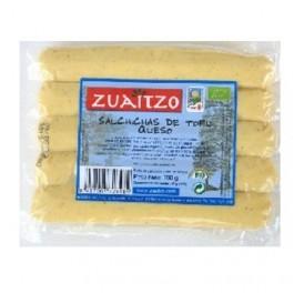 ZUAITZO SALCHICHA DE TOFU QUESO BIO 200GRS