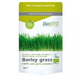 BIOTONA BARLEY GRASS RAW CEBADA BIO 200GRS