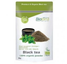 BIOTONA BLACK TEA ECO 90GRS