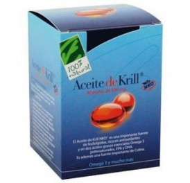 CIEN X CIEN NATURAL ACEITE KRILL NKO® 120PERLAS