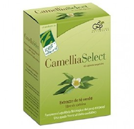 CIEN X CIEN NATURAL CAMELIA SELECT 60CAP