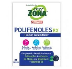 ENER ZONA POLIFENOLES RX 24CAP