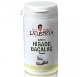 LAJUSTICIA HIGADO BACALAO 90PERLAS