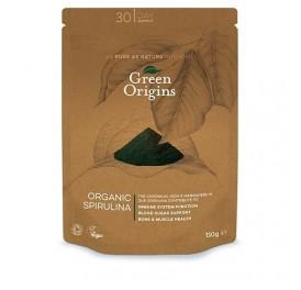GREEN ORIGINS ESPIRULINA POLVO 150GRS