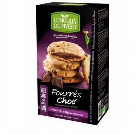 LE MOULIN COOKIES RELL CHOCO BIO 175GRS