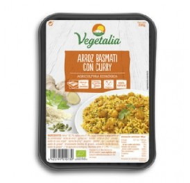 VEGETALIA ARROZ BASMATI CON CURRY 285GRS