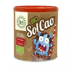 SOLNATURAL SOLCAO CACAO SOLUBLE 400GRS