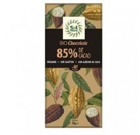 SOLNATURAL CHOCOLATE VEGANO 85% BIO 70GRS
