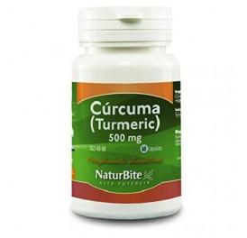 NATURBITE CURCUMA TUMERIC 500MG 60CAP