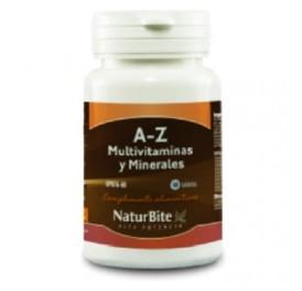NATURBITE A-Z MULTIVITAMINAS Y MINERALES 60COMP