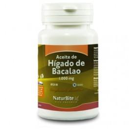 NATURBITE ACEITE DE HIGADO DE BACALAO 1000MG 90CAP