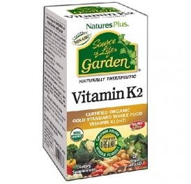 NATURES PLUS GARDEN SOURCE OF LIFE VITAMINA K2 60CAP