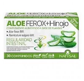 NATYSAL ALOE FEROX + HINOJO 30CAP