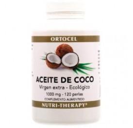 ORTOCEL ACEITE DE COCO 1000MG BIO 120PERLAS