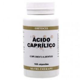 ORTOCEL ACIDO CAPRILICO 600MG 100PERLAS