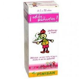 PINISAN ADIOS PAÑUELOS PINISANITOS JARABE 250ML