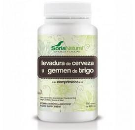 SORIA GERMEN DE TRIGO Y LEVADURA DE CERVEZA 500COMP