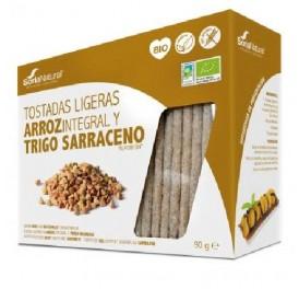 ALECOSOR BIO TOSTADAS ARROZ Y SARRACENO 25UD 90GR