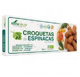 ALECOSOR CROQUETAS ESPINACAS BIO S/G 250GR