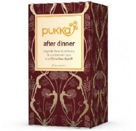 PUKKA INFUSION AFTER DINNER...