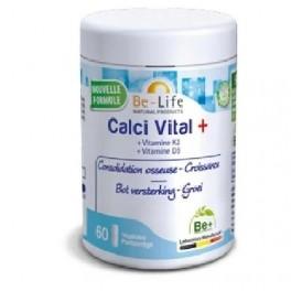BE LIFE CALCI VITAL+ 60CAP
