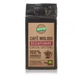 BIOCOP CAFE DESCAFEINADO MOLIDO 100% ARABIC BIO 250G