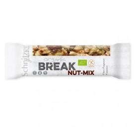 SCHNITZER BARRITA NUECES BREAK NUT-MIX S/G BIO 40GR