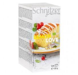 SCHNITZER BIZCHOCHO LEMON LOVE S/G 120GR