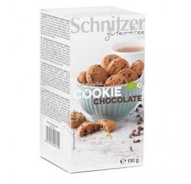 SCHNITZER GALLETAS COOKIE CHOCOLATE S/G BIO 150GR