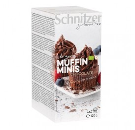 SCHNITZER MINI MUFFINS CHOCO S/G 120GR