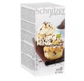 SCHNITZER MINI MUFFINS STRACCIATELLA S/G BIO 120GR