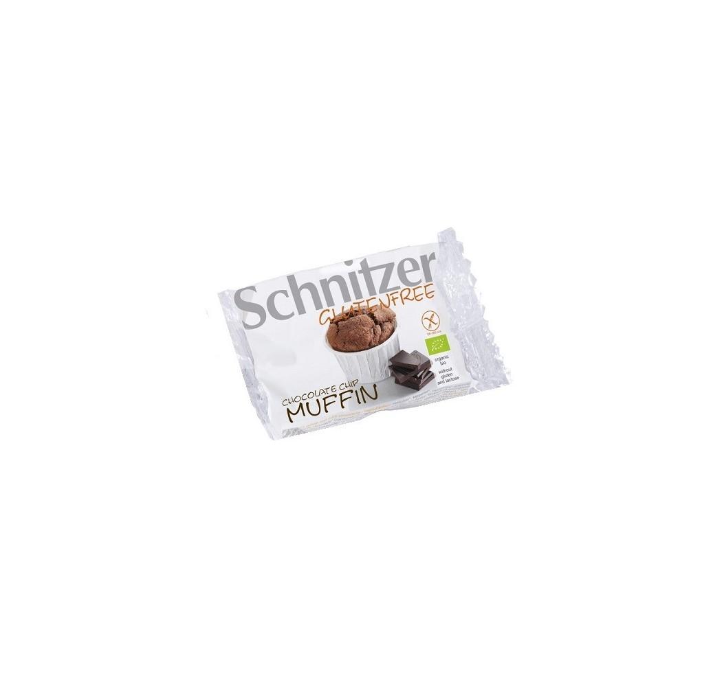 SCHNITZER MUFFINS CHOCOLATE INDIVIDUAL S/G BIO 70GR