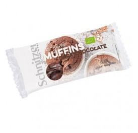 SCHNITZER MUFFINS CHOCOLATE S/G BIO 140GR