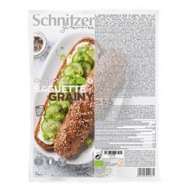 SCHNITZER PAN BAGUETTE SEMILLAS GRAINY S/G BIO 320GR