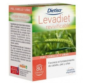 DIETISA LEVADIET REVIVIFICABLE 80CAP