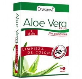 DRASANVI ALOE VERA PLUS COLON 30COMP